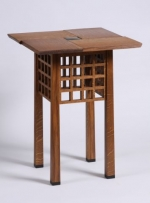 Kevin Rodel Square Table fumed oak 640